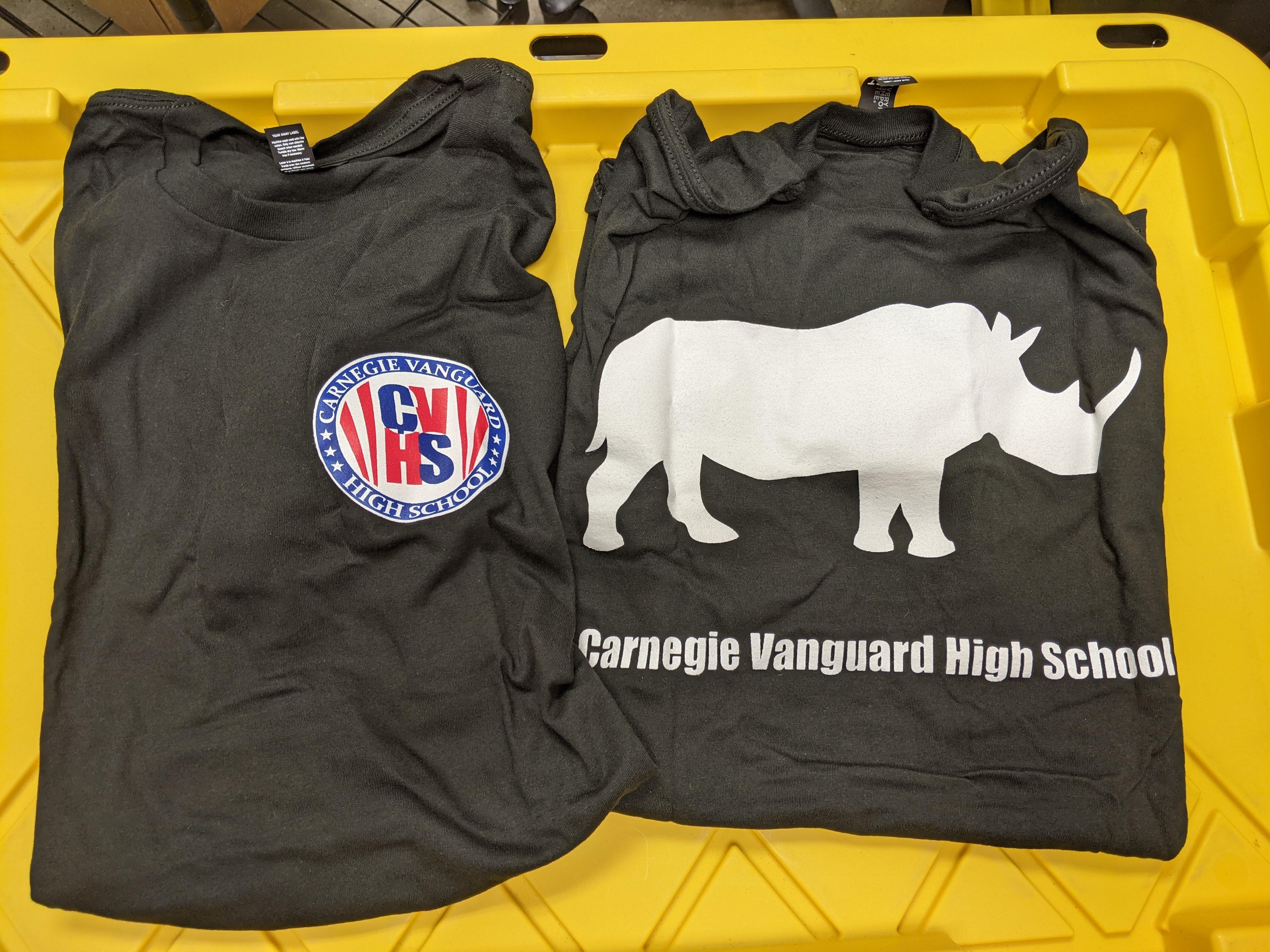 Short Sleeve T-Shirt 3-Color Logo, Black