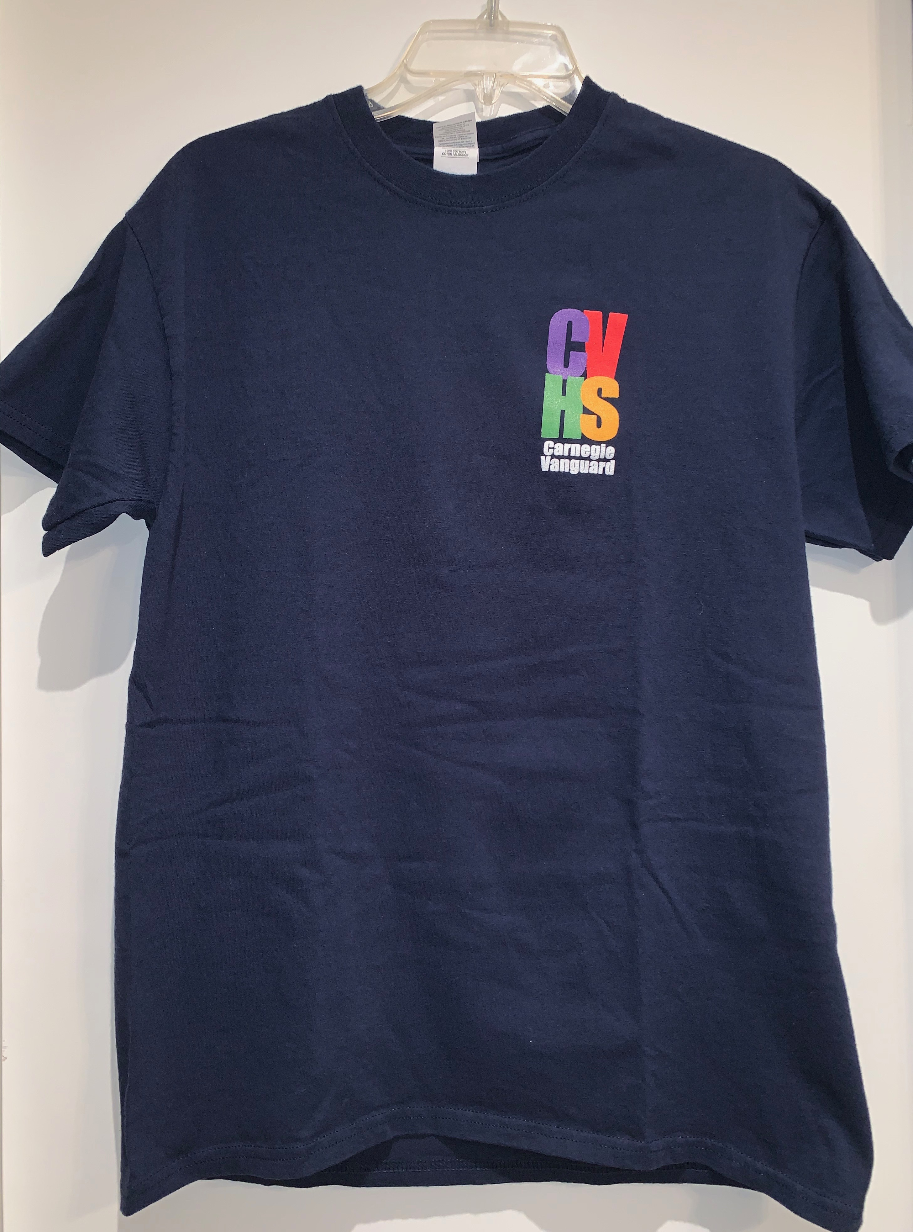 Short Sleeve T-Shirt, 4-color logo, Navy (XL only)